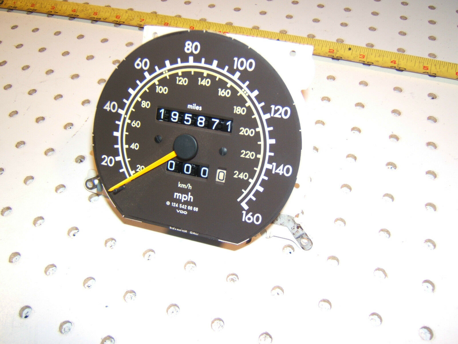 Colorful Vdo Electronic Speedometer Wiring Diagram Frieze ...