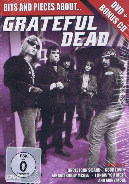 DVD (MIT BONUS CD) NEU/OVP - Grateful Dead - Bits And Pieves About...