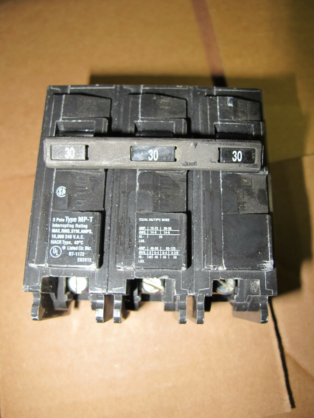 About Siemens Murray Mp3030 30 Amp Single Pole Circuit Breaker 2 Mp330 3 Plug In Ebay