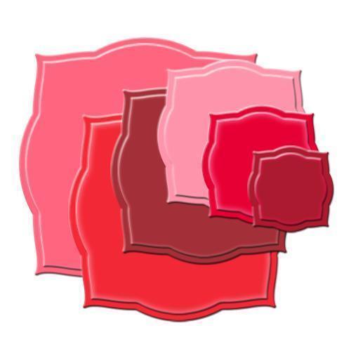 spellbinders nestabilities 6 die cut templates labels three s4 189