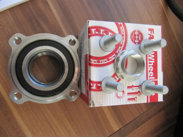 FAG Wheel bearing BMW 5 Series E60 Saloon 2 Sets for rear left and right