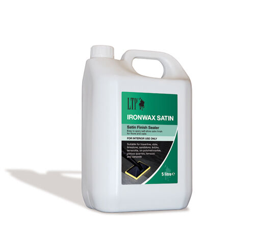 LTP Ironwax Satin Sealer 5 Litre for tiles and stone
