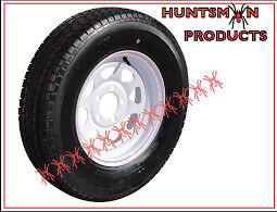 13 x 4.5 155 Sunraysia Ht Holden Wheel Rim and Tyre White Trailer Caravan Boat