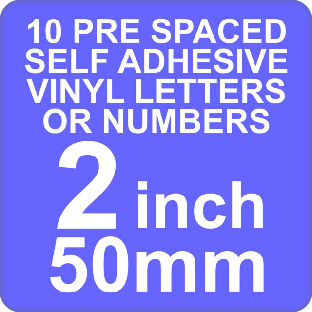 X Inch Or Mm Self Adhesive Vinyl Letters Or Numbers Red EBay - Self adhesive vinyl letters