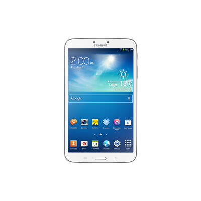 Samsung Galaxy Tab 3 16GB, Wi-Fi + 4G, 8in - White Tablet