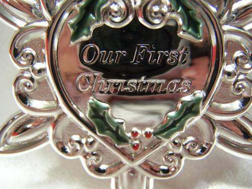 Gorham 2006 Our First Christmas Ornament  eBay