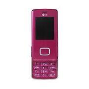 LG KG800  Pink  Mobile Phone