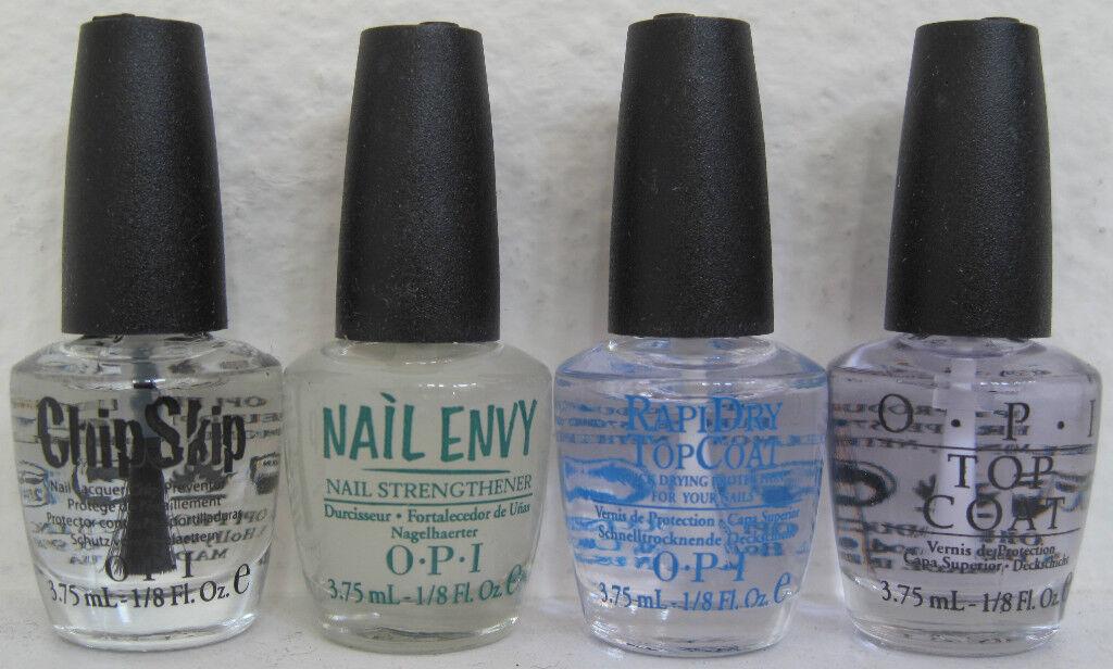 OPI 4 Mini Polish Set Chip Skip/nail Envy/rapidry/top Coat | eBay