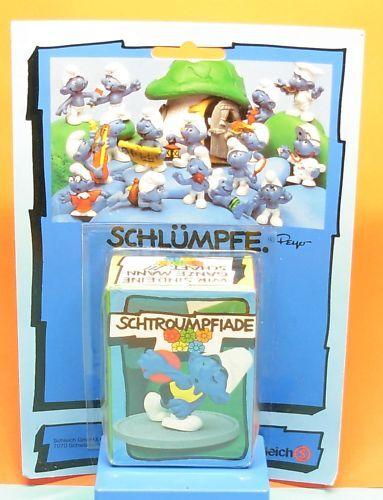 40503 Diskuswerfer Super Schlumpf MiB Blister Schleich
