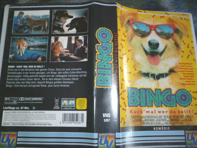Bingo - Kuck mal wer da bellt VHS Frei ab 6 Jahre gebr. VHS