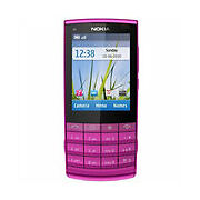 Nokia X3 02  Pink  Mobile Phone