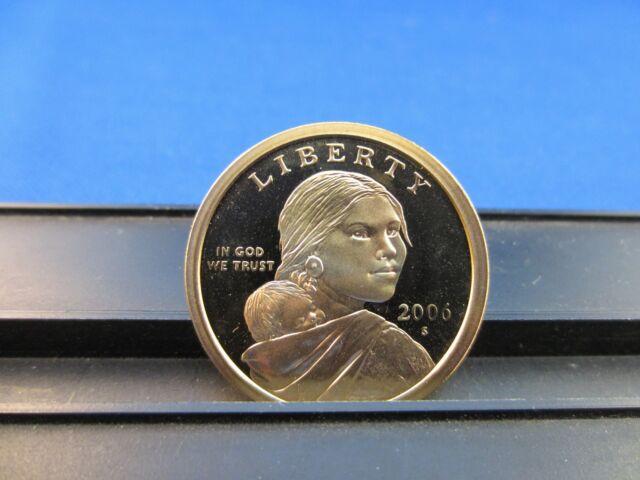 2006-S Native American Clad Dollars -Sacagawea  Deep Cameo Mirror PROOF