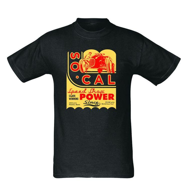 2xl so Cal Art Deco T-shirt Black Hot Rod Rat Street Custom Old ...