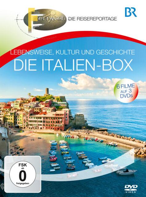 DVD Die Italien Box von Br Fernweh das Reisemagazin mit Insidertipps 3DVDs