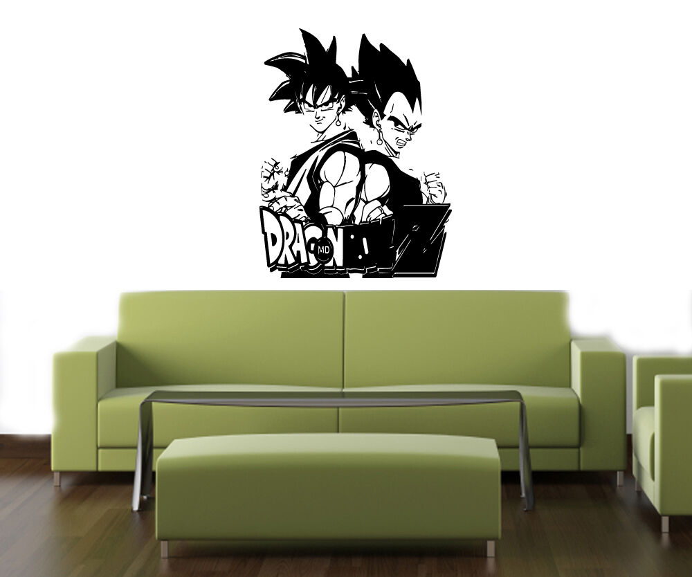 Dragon ball z anime baby room kid wall vinyl sticker decals art picture 1 of 1 amipublicfo Images