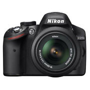 Nikon D3200 24.2 Megapixels Digital Camera  Black...