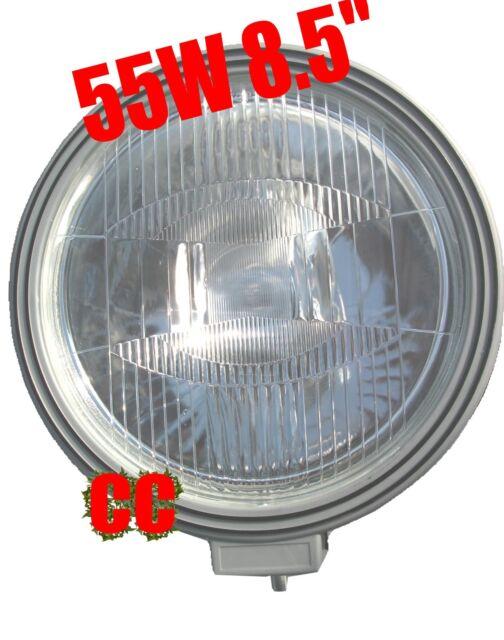 """LARGE POWER 12v Halogen light spotlight 8.7"""" GIANT lamp SPOT boat search light"""
