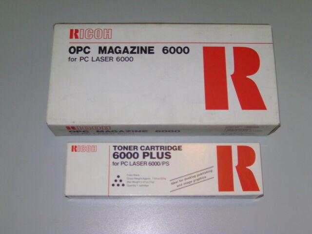 Original Ricoh OPC Magazin 6000 + Toner LP1060 PC6000