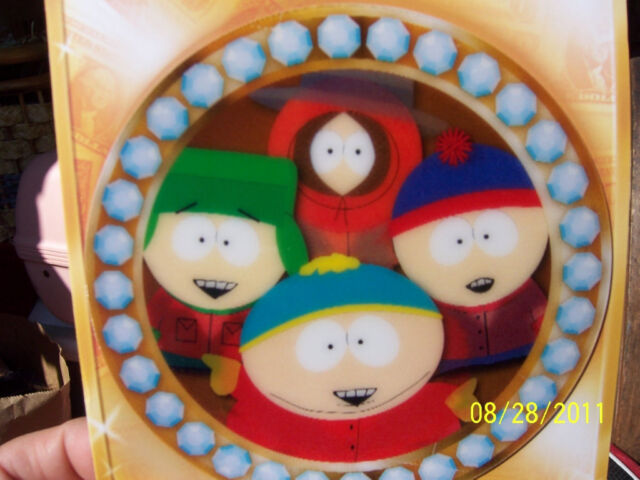 South Park 1pc Motion Holographic Birthday Cards Ebay