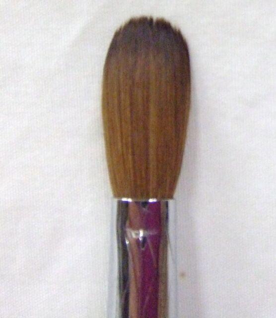 Professional Premium Kolinsky Acrylic Nail Brush Round Crimped #16 ...