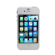 Apple iPhone 4  8 GB  White  Smartphone