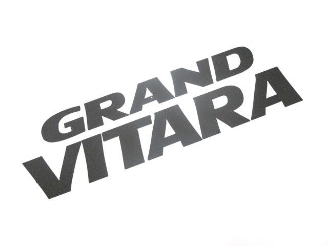Genuine New SUZUKI GRAND VITARA DECAL SUV 24V 2.7V6 1.9 2.0 Charcoal 1998-2005