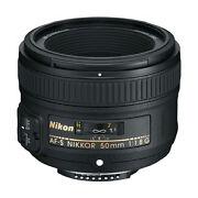 Nikon AF S Nikkor 50mm f/1.8 G Lens
