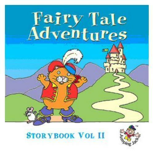 FAIRY TALE ADVENTURES - STORYBOOK V II  CHILDREN'S  CD -  - FREE POST IN UK