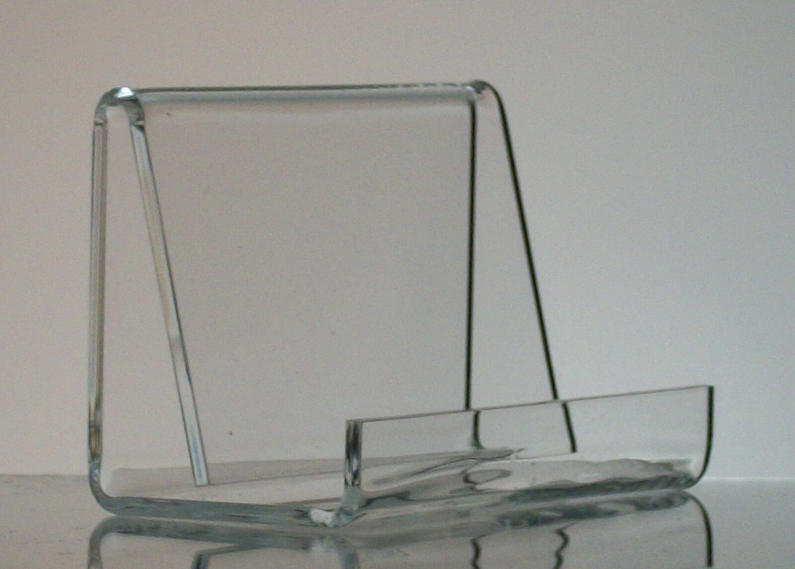 Industrial-style Acrylic Business Card Holder Display | eBay