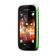 Sony Ericsson Walkman Mix  Green  Mobile Phone