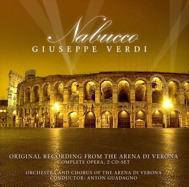 CD NABUCCO BY GIUSEPPE VERDI ARENA DI VERONA 2CDs