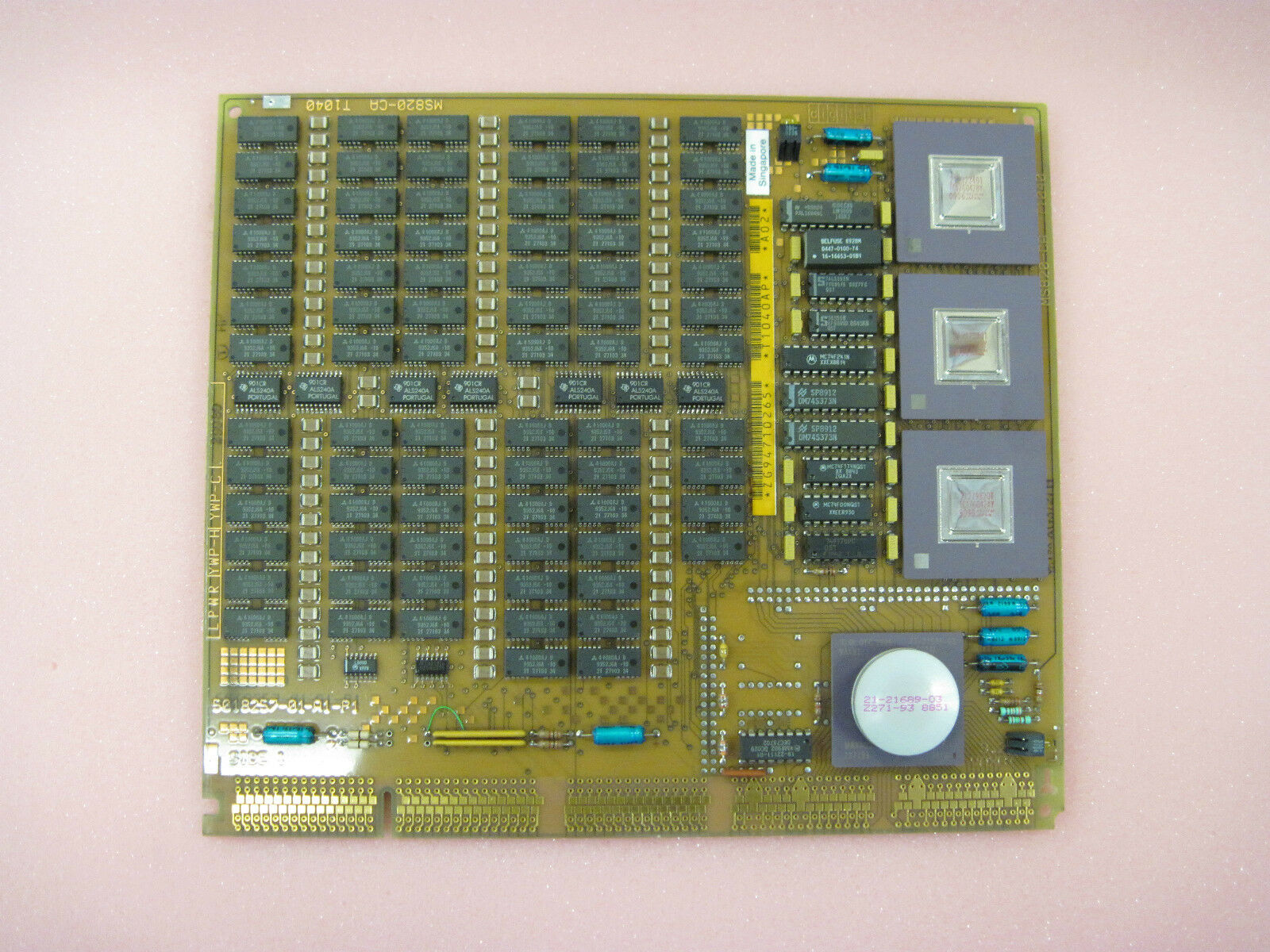 Dec T1040 16mb Memory Card Ms820 Ca 50182757 Ebay Side 5x7cm Printed Circuit Pcb Vero Prototyping Track Strip Board Uk Picture 1 Of 5