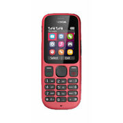 Nokia 101  Red  Mobile Phone