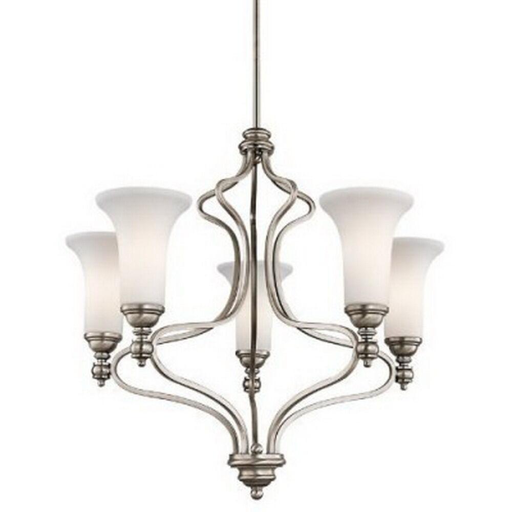 Kichler 42623ap ellerslie 5 light antique pewter chandelier ebay picture 1 of 1 arubaitofo Choice Image