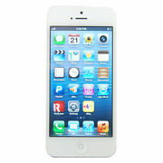 Apple iPhone 5  16 GB  White Silver  Smartphone