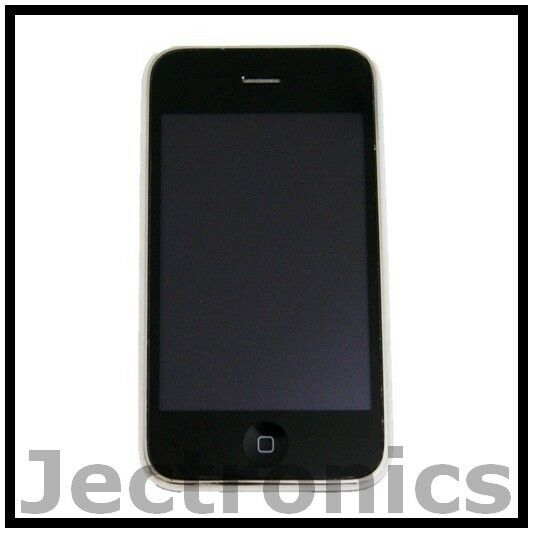 APPLE IPHONE 3G 16GB WHITE AT&T GSM GOOD CONDITION SMARTPHONE