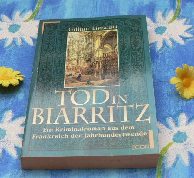 Gillian Linscott Tod in Biarritz historische Krimi Romane Thriller