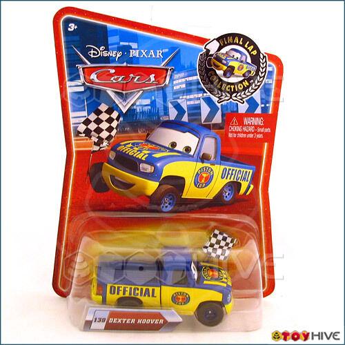 Disney Pixar Cars Final Lap Dexter Hoover #139 Checkered Flag