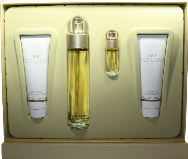 360 by Perry Ellis for Women Gift Set 18406590rt | eBay