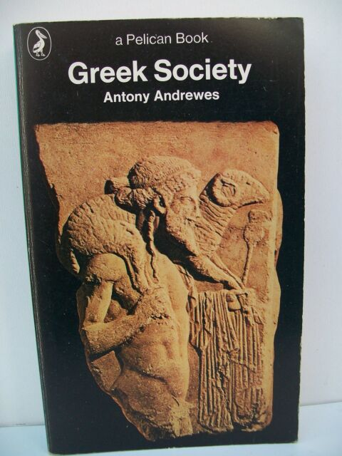 Greek Society by Antony Andrewes (Paperback, 1971)