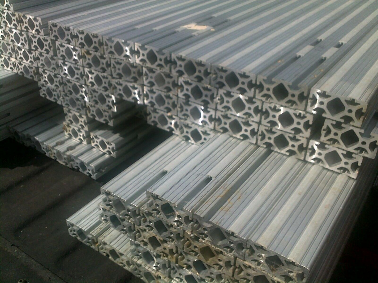 Aluminum extrusion extruded 8020 channel profile t slot ebay picture 1 of 2 sciox Choice Image