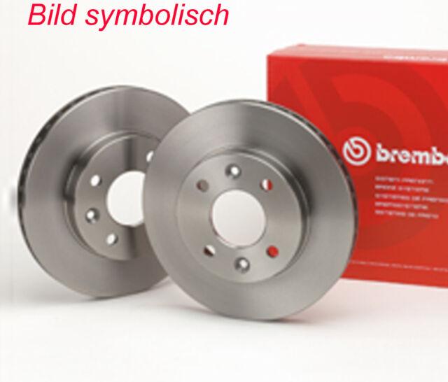 2 Brembo volle Bremsscheiben HA 280 MAZDA 3 BK Stufenheck 5 CR19 MPS MZR-CD 2.0