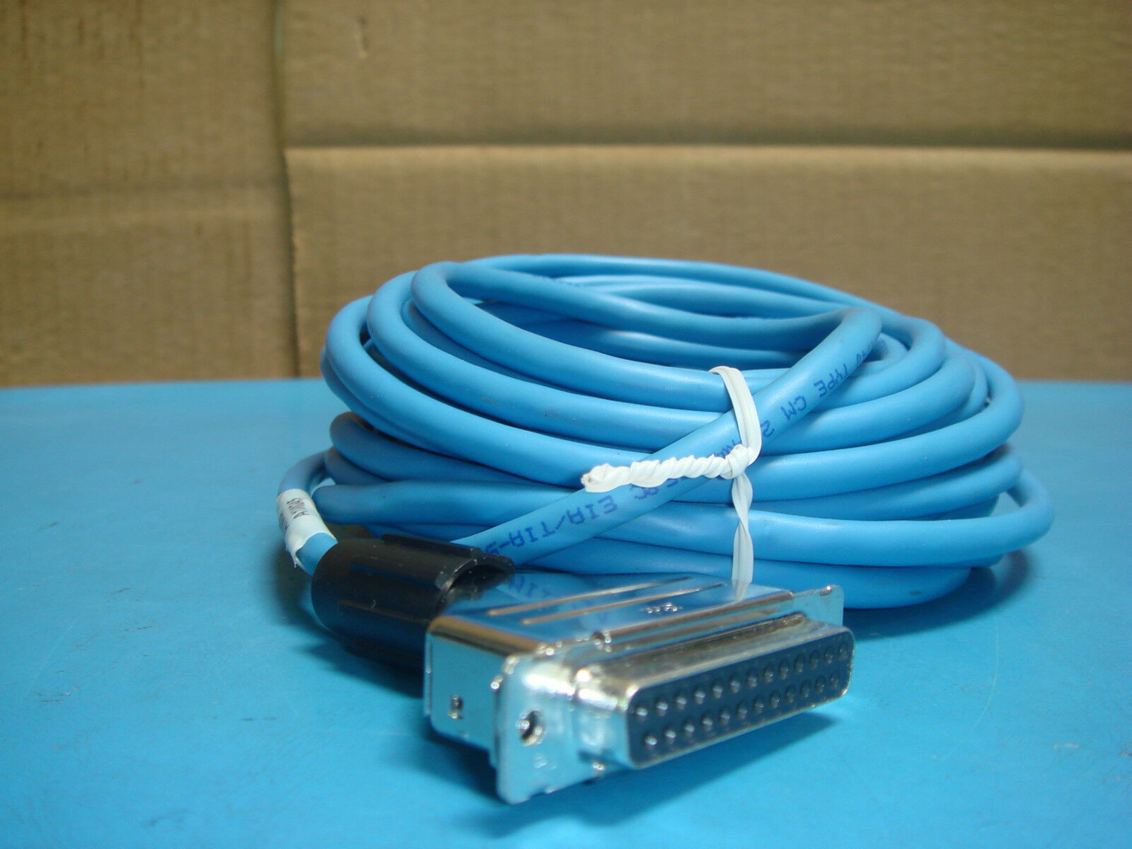 10 Blue Cat 5e Ether Net Patch Cables With 25 P 3m Female Connector Cords Outdoor Cat5e Pre Owned Lowest Price