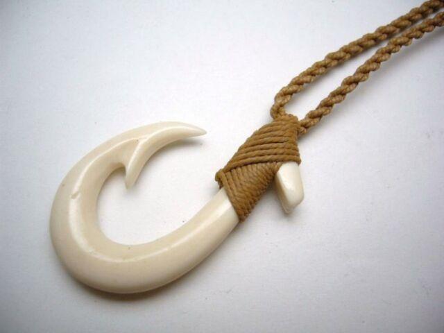 Hawaiian jewelry maori hei matau fish hook bone carved pendant hawaiian jewelry maori hei matau fish hook bone carved pendant choker 35055 1 mozeypictures Images