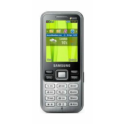 Samsung  GT GT-C3322 - Black - Mobile Phone