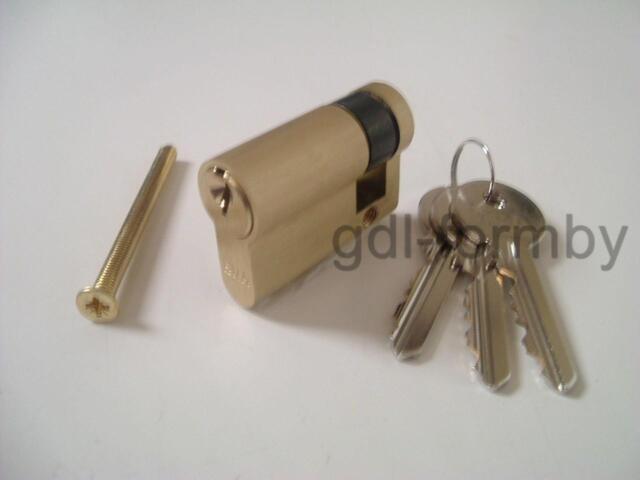 Garage Door Lock Cylinder 40mm Cardale Garador Hormann Apex Birtley