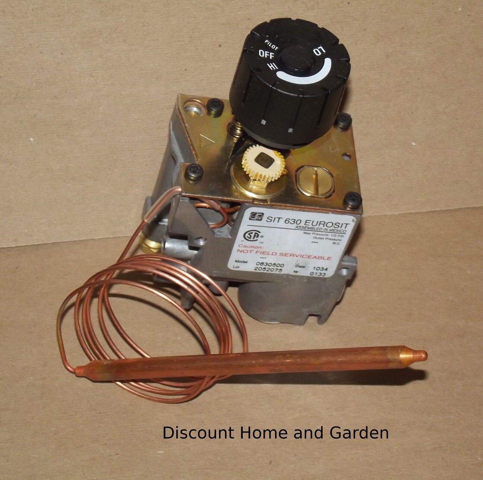 heater fireplace natural u0026 propane gas valve 630 eurosit 0630500