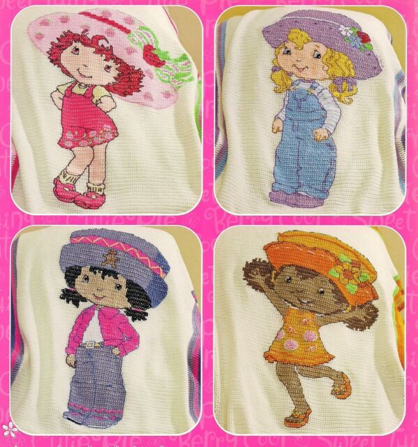Strawberry Shortcake Dolls To Crochet Leisure Arts Pattern Booklet