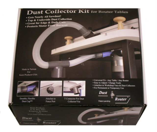 Router table dust collection collector system for fence insert router table dust collection collector system for fence insert plate by bits keyboard keysfo Images
