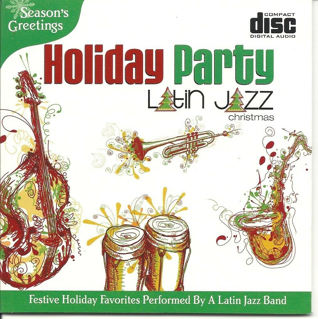 Christmas Latin Jazz Holiday Party Festive Instrumental Relaxational ...